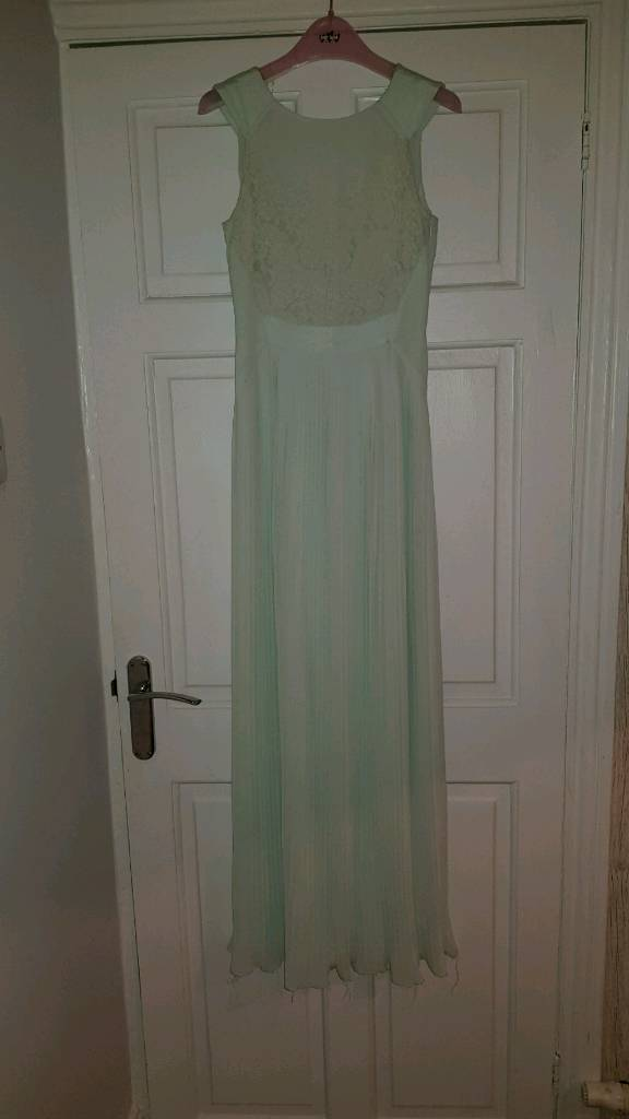 Ted Baker Mint green bridesmaid dress UK Size 6