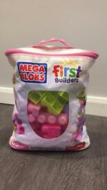Fisher Price Mega Bloks first builders pink