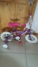Small girls bicycle