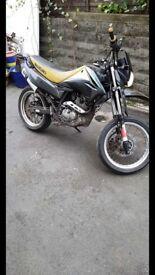 Suzuki dr 125cc sm road legal (not cg,nsr,rs)