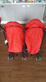 Zeta Citi TWIN Stroller Buggy Pushchair - EXCELLENT CONDITION