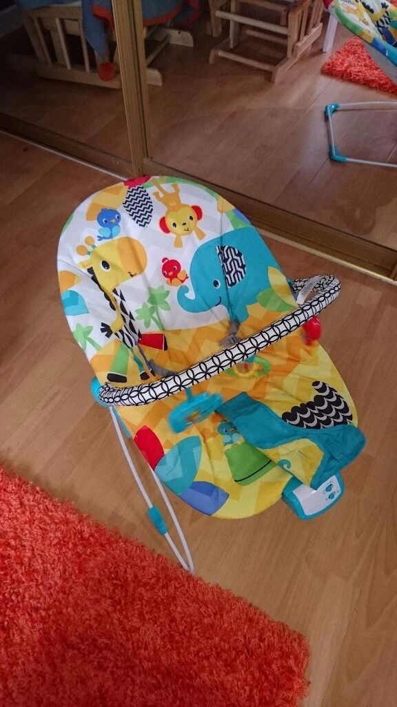 Fisher price baby bouncerin Ballymena, County AntrimGumtree - Fisher price baby bouncer. Like new. Only used a few times. Toy bar can be removed