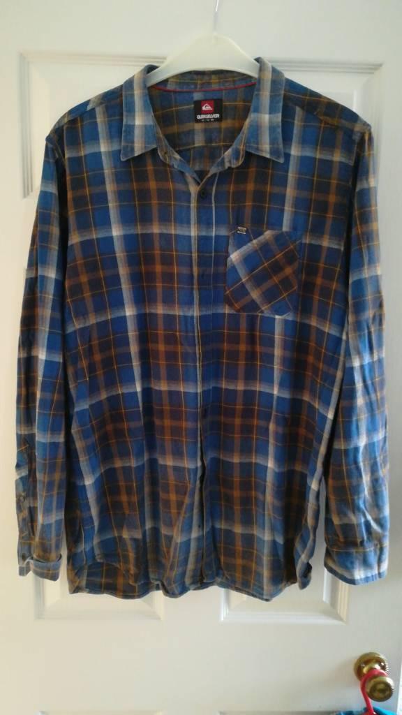 Quicksilver mens shirt - XL