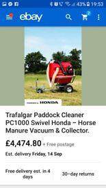 Trafalger paddock cleaner