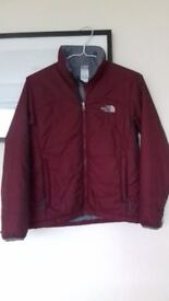 A ladies' North Face insulation jacket, size S( more like an M) , in excellent condition