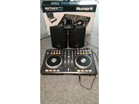 Numark Mixtrack Pro with Pulse speakers