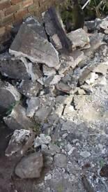 Hard-core rubble
