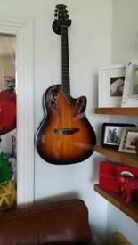 Ovation semi acoustic guitar