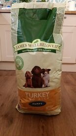 NEW - James Wellbeloved Puppy Food 15kg