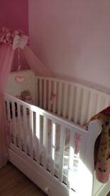 3Way Cot Bed&Matress