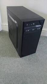 Silverstone pc case and gigabyte motherboard psu plus Pc case SFF monitor and keyboard bundle