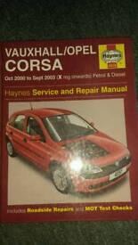 Haynes Corsa C manual