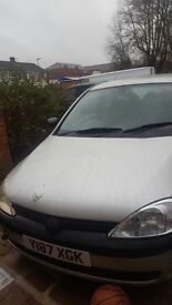 Vauxhall Corsa 2001 £100 ONO need gone as soon as possible