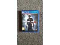 Uncharted 4 Ps4 game for sale 15quid