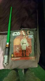 Obi-Wan Kenobi Costume + Lightsaber