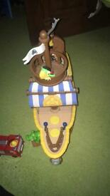 Disney's Jake And The Neverland pirates ship