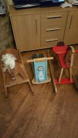 Job lot of wooden toys