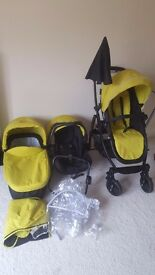 3in 1 graco evo pushchair in very good condition