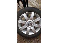 Mk5 VW Golf wheel