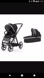 Second hand oyster max with carrycot