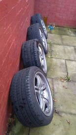 BMW alloy wheels urgently seller
