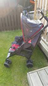 Gracco car seat and buggy