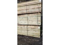 Sleepers 100mm X 200mm X 2400mm 8ft long treated AVAILABLE!!!!