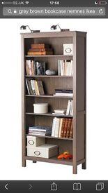 Grey/brown book case