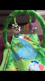 Fisher price baby play mat