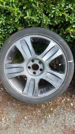 """18"""" black alloys including tyres for Ford"""