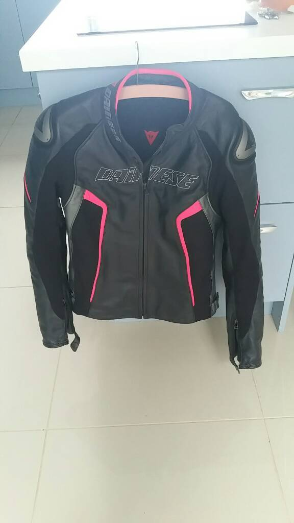 Ladies size 14 dainese jacket