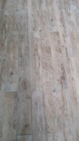 Sequoia ceramic wood effect tiles
