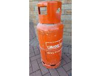 Blackwood. 19KG propane gas bottle, Some gas left.