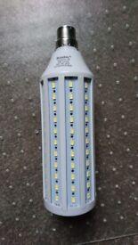 Bonlux 40W B22 Bayonet LED Energy Saving Daylight Bulb Cool White 5500K Corn Light