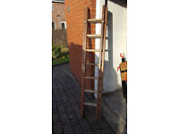 Wooden Extending Ladder