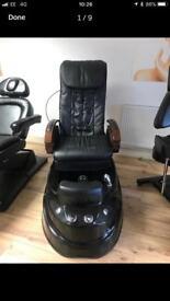 Black Pedicure Massage chair