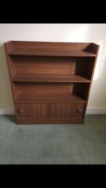Bookcase With Storage Unit
