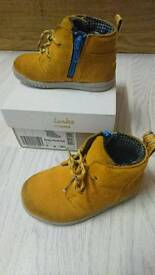 Clarks toddler boys boots