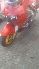 Honda, CBR, 1998, 918 (cc)