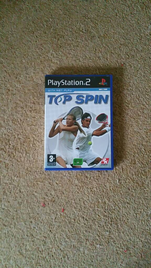 Top Spin for PS2