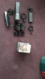 Xbox 360 with Kinect and 13 games