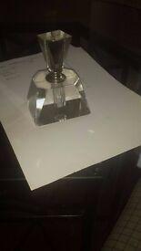 Beautiful glass perfume holder