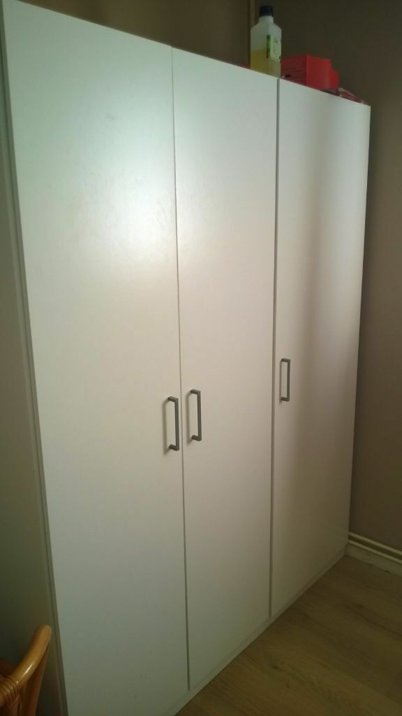 Three Door Ikea White Wardrobe used 1635000 in  : 86 from www.gumtree.com size 576 x 1024 jpeg 29kB
