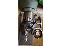 Sonik tournos 8000big pit reels x3 excellent condition all boxed with spare spools