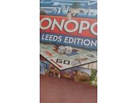 Monoply Board Game - Leeds Edition *BRAND NEW SEALED*