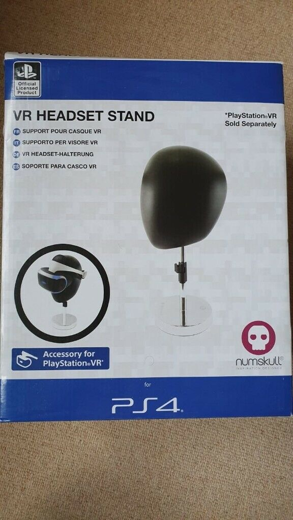 Official Sony PlayStation VR Headset Stand PS4 (BRAND NEW & SEALED) | in  East Kilbride, Glasgow | Gumtree