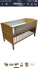 'Safe dreams' breathable cot bumper