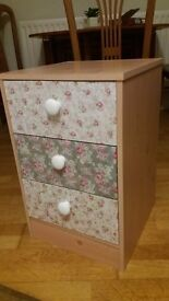 Girly bedside table