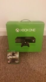 Xbox one with new call of duty
