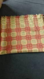 Welsh blanket/throw